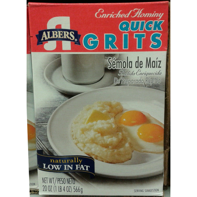 Enriched Hominy Quick Grits