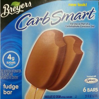 Carb Smart Fudge Bar Chocolate Ice Cream