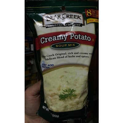 calories in creamy potato soup mix from bear creek country kitchens rh nutritionix com Bear Creek Soup Mix Bear Creek Country Kitchens 1Z