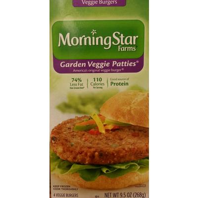 Veggie Burgers, Garden Veggie Patties
