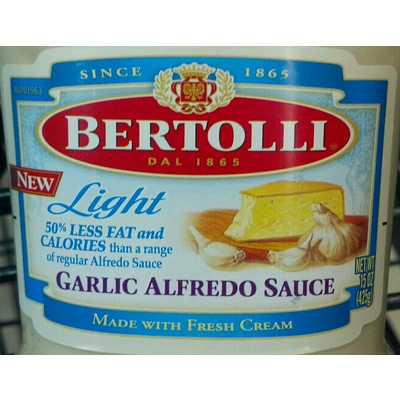 Garlic Alfredo Sauce, Light