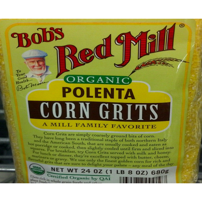 Calories In Organic Polenta Corn Grits From Bob S Red Mill
