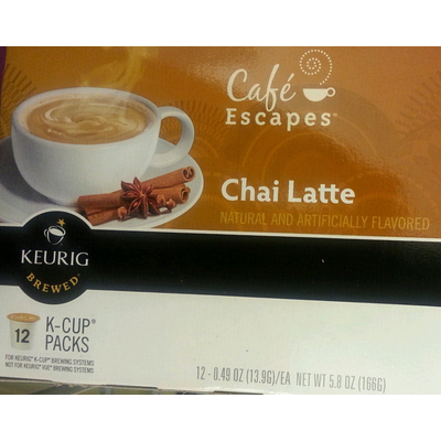 Cafe Escapes, Chai Latte