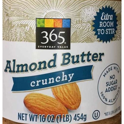 365 Everyday Value, Crunchy Almond Butter image