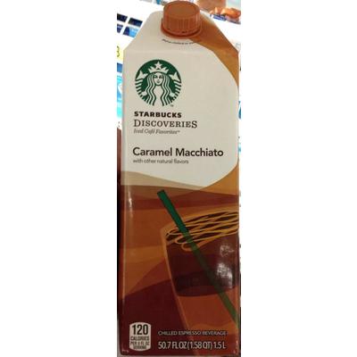starbucks caramel macchiato nutrition