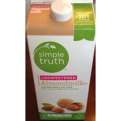 Simple Truth Chocolate Almond Milk Nutrition