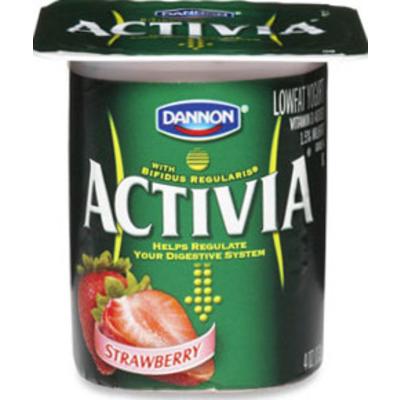 Activia Yogurt, Strawberry