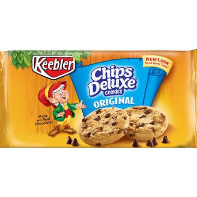 calories in chips deluxe cookies original from keebler