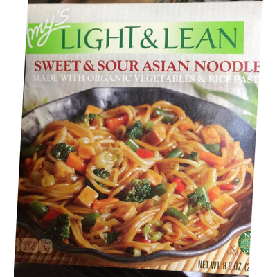 Message simply asian noodles nutrition words