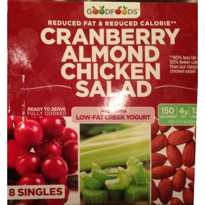 Calories In Cranberry Almond Chicken Salad From Goodfoods