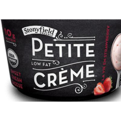Petite Creme, Low Fat Strawberry Yogurt