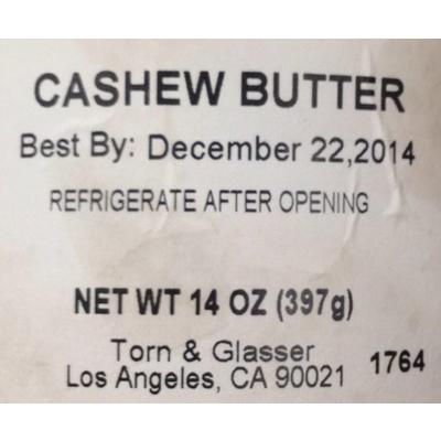 Cashew Butter image