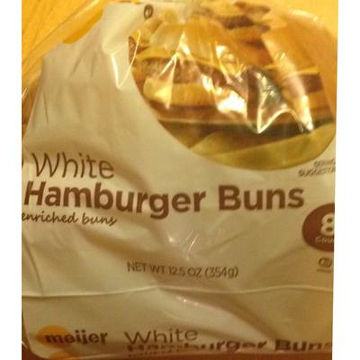 Top 50 most popular: hamburger bun