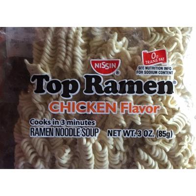Calories in Top Ramen, Chicken Flavor, Ramen Noodle Soup
