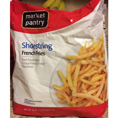 Calories In French Fries Shoestring From Market Pantry