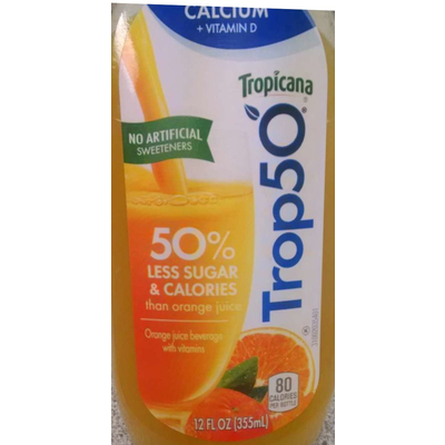 Trop50 Orange Juice Beverage
