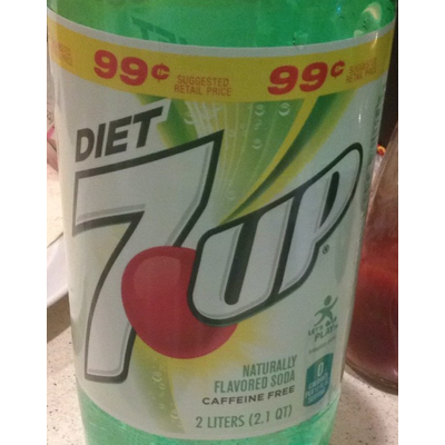 Calories In Caffeine Free Soda From Diet 7 Up