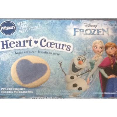 Calories In Sugar Cookies Disney Frozen From Pillsbury