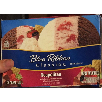 Calories In Neapolitan Ice Cream From Blue Ribbon