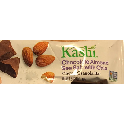 Calories in Granola Bar, Chocolate Almond Sea Salt with Chia