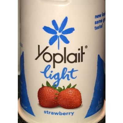Yoplait Light Strawberry Nutrition Label Shelly Lighting