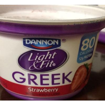 Greek Yogurt, Strawberry