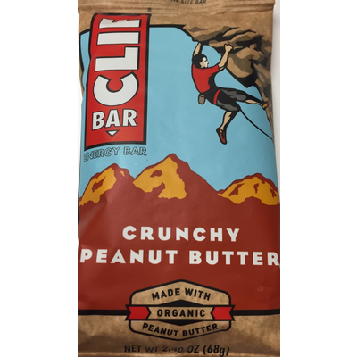 Bon Energy Bar, Crunchy Peanut Butter