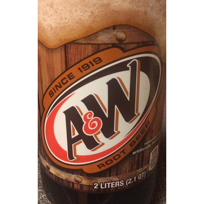 Root Beer Soft Drink. A&W