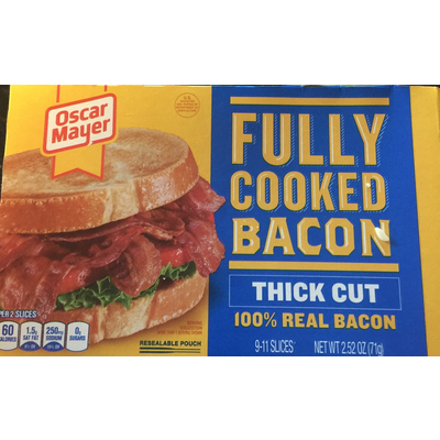 recipe: how many calories are in oscar mayer turkey bacon [32]
