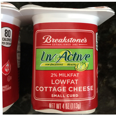 Brilliant Calories In Lowfat Cottage Cheese Small Curd From Breakstones Download Free Architecture Designs Rallybritishbridgeorg