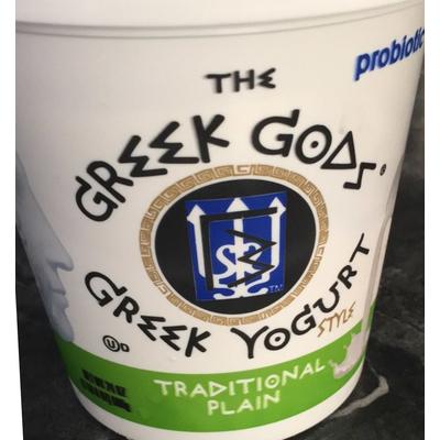 Calories in Greek Yogurt, Traditional Plain from The Greek Gods