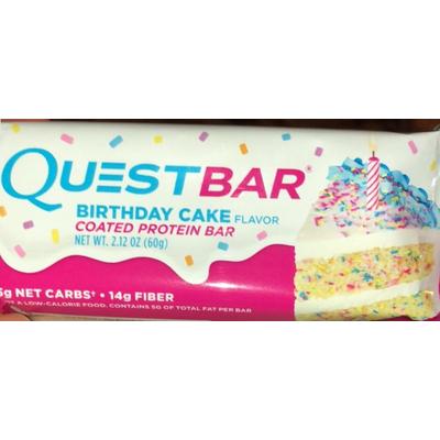 Protein Bar Birthday Cake Flavor