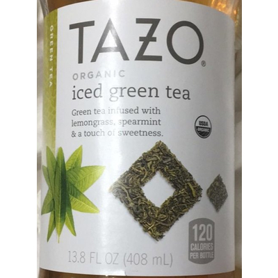 7b86f69dcbe9 Calories in Iced Green Tea, Organic from Tazo