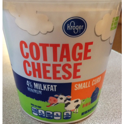 Fantastic Calories In Cottage Cheese Small Curd From Kroger Home Remodeling Inspirations Cosmcuboardxyz