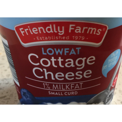 Phenomenal Calories In Lowfat Cottage Cheese From Friendly Farms Interior Design Ideas Clesiryabchikinfo