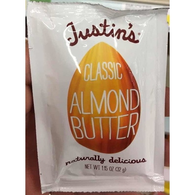 Calories In Classic Almond Butter From Justin S