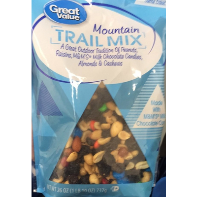 Calories in Trail Mix, Mountain from Great Value